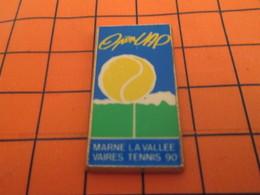 320 Pin's Pins / Belle Qualité Et Rare / THEME SPORTS / TENNIS MARNE LA VALLEE VAIRES 90 - Tennis