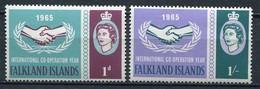 Falkland Inseln Mi# 151-2 Postfrisch MNH - Cooperation Year - Falkland Islands