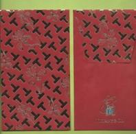 CHINOIS * RED POCKET *TIFFANI & CO 2020  V/R - Cartoline Profumate