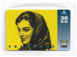 Faroe - Faroese Telecom (Magnetic) - The Movie Barbara - 30Kr. - 20.000ex, NSB - Faroe Islands