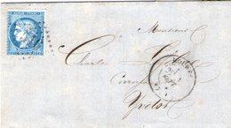 Bolbec +  Cachet De Passe De Rouen - 1849-1876: Période Classique