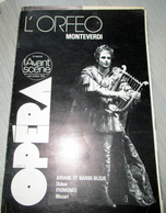 L'Orféo- L'avant Scène Opéra N° 5 - Musique