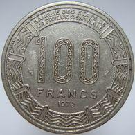 LaZooRo: Central African Republic 100 Francs 1978 VF / XF Bokassa - Repubblica Centroafricana