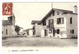 BIDART (64) - La Mairie Et L' Eglise - Ed. LL. - 3 - Bidart
