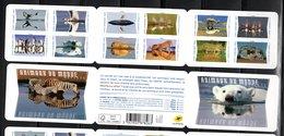 France 2020.Carnet Animaux Du Monde Reflets.** . - Booklets