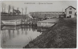 COMPIEGNE - ECLUSE DE VENESSE - SUPERBE - 1915 - Compiegne