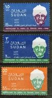Sudan 1968 Set Of Stamps To Celebrate Abdullahi El Fadil Mahdi. - Sudan (1954-...)