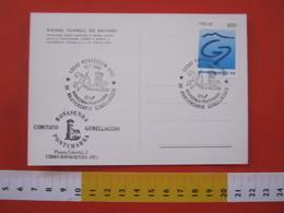 A.13 ITALIA ANNULLO 1994 ROVASENDA VERCELLI GEMELLAGGIO PONTCHARRA ISERE FRANCIA CAVALIERE BAYARD CASTELLO CASTLE - Personaggi Storici