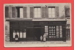 92 - Nanterre - Carte Photo épicerie Au 7 Place Du Martray - Nanterre