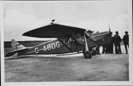 CPA. Carte-Photo > Entre Guerres > ISTRES-AVIATION - Avion De Tourisme PUSS-MOTH - TBE - 1919-1938: Entre Guerres