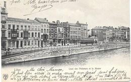 Liége NA68: Quai Des Pêcheurs Et La Meuse 1905 - Liege