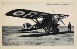 CPA. Carte-Photo > Entre Guerres > ISTRES-AVIATION - NIEUPORT 62 - TBE - 1919-1938: Entre Guerres