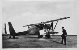 CPA. Carte-Photo > Entre Guerres > ISTRES-AVIATION - BREGUET 411 - TBE - 1919-1938: Entre Guerres