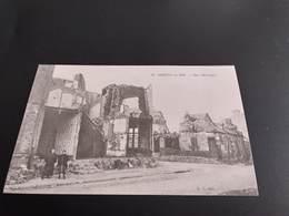 CPA (80) Amiens En 1918. Rue Béranger.  (H3609) - Amiens