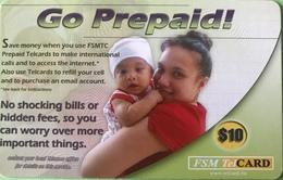 """MICRONESIE  -  Prepaid  -  """" Go Prepaid ! """"  -  $10 - Micronésie"""