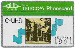 UK - BT - L&G - BTC-032 - Belfast University 1991 - 103K - 20U, 5.000ex, Mint - Reino Unido