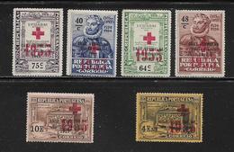 PORTUGAL (  PORT - 41 )   1932  N° YVERT ET TELLIER  N° 65/70  N** - Franchise