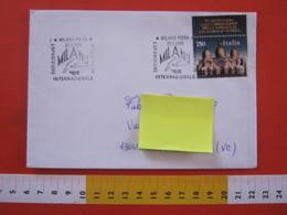 A.13 ITALIA ANNULLO 1995 MILANO FIERA ESPOSIZIONE INTERNAZIONALE DI FILATELIA MILANOFIL VIAGGIATA FR. SAN MARCO VENEZIA - Esposizioni Filateliche