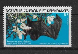 Thème Animaux - Chauve-souris - Nouvelle Calédonie- Neuf ** Sans Charnière - TB - Bats