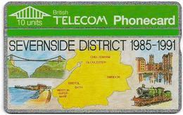 UK - BT - L&G - BTI-005 - Severnside District - 123G - 10U, 1991, 10.000ex, Used - Reino Unido