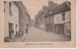 PERONNE RUE DU BLANC MOUTON  CHOCOLAT MENIER France Frankreich Francia - Peronne