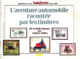 L'aventure Automobile Racontée Par Les Timbres Par Jean Michel Cravy - Timbres