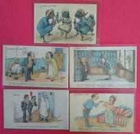 Lot 5 Cpa Cartes Postales Différentes Maghreb AFN Par Chagny Franco De Port Pour L'Europe - Chagny