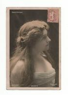 FEMMES - FRAU - LADY - Jolie Carte Fantaisie Jeune Femme Opera Comique GUIONIE - Femmes
