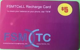 "MICRONESIE  -  Prepaid  -  "" FSMTCeLL  ""  -  $5 - Micronésie"