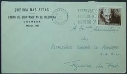 Portugal - Advertising Cover 1961 Padre Cruz Queima Das Fitas Medicine Coimbra - 1910-... Republic
