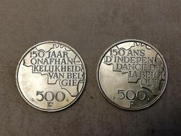 500 Francs Belges Indépendance Belgique - Collections