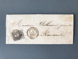 Belgique, 10c. Sur Lettre Pour Ransart - (B3049) - Postmark Collection