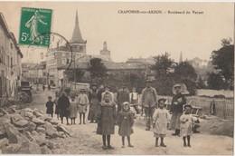 CRAPONNE Sur ARZON - Boulevard Du Vernet. Personnages En Gros Plan. Carte Très Animée - Craponne Sur Arzon