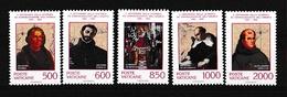 1992 Vaticano Vatican SCOPERTA AMERICA COLOMBO DISCOVERY Serie Di 5v. MNH** - Vatican