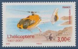 2007 - POSTE AERIENNE 70 - L'hélicoptère 1907 - 2007 - Posta Aerea