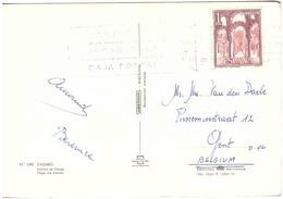 S'AGARO CARTOLINA PER BELGIO - 1961-70 Storia Postale