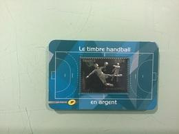 Timbre Argent LE HANDBALL 2012 - France