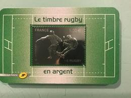Timbre Argent LE RUGBY 2011 - Frankrijk