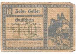 Österreich Austria Notgeld 10 HELLER FS605I MELK /152M/ - Autriche