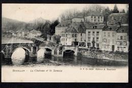 Postkaart / CPA / Bouillon / Le Château Et La Semois / Ed. A. Bourland / D.V.D. 10018 / 1910 / 2 Scans - Bouillon