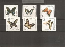 Vietnam Du Nord - Papillons ( 472/477 Non Dentelés XXX -MNH) - Viêt-Nam