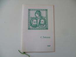 PERSONNAGES  HISTORIQUES 1969  BAYARD LOUIS XI  HENRI IV - Documents Of Postal Services