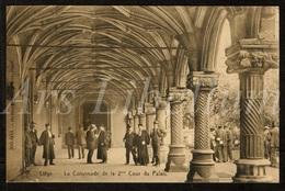 Postkaart / CPA / Liège / La Colonnade De La 2me / Cour Du Palais / Heliotypie / STAR / 2 Scans / 1913 - Liege