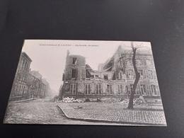 CPA (80) Bombardement D'Amiens. Esplanade Beauvais.   (H3651) - Amiens