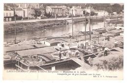 Péniches à  Lagny Thorigny  (77 - Seine Et Marne) Réquisition De La Paille - Péniches