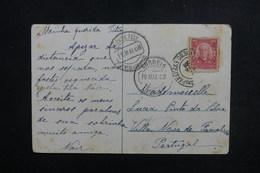 BRÉSIL - Affranchissement  Sur Carte Postale En 1908 Pour Le Portugal - L 52731 - Briefe U. Dokumente