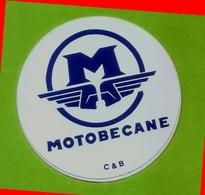 Autocollant MOTOBECANE (Ø6cm) - Autocollants