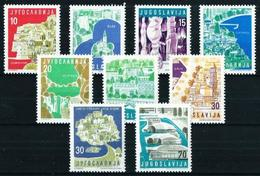 Yugoslavia Nº 772/80 Nuevo - 1945-1992 République Fédérative Populaire De Yougoslavie