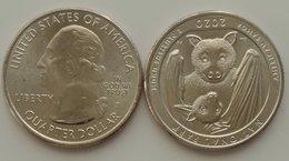 USA  - 1/4 (Quarter) Dollar ( 25 Cents ) 2020 - D UNC Park American Samoa Lemberg-Zp - Altri
