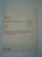 POLITIQUE : SERVICE TELEX / ELECTIONS 1984 / FELICITATIONS RITONDALE ( HYERES ) à CLAUDE BLANC ( CUERS ) VAR - Documents Historiques